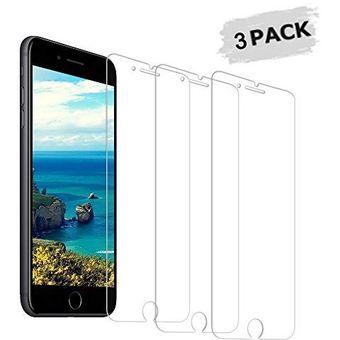5f4f1ce7b76 Pack x3 de Micas Laminas de Fibra de Vidrio Templado para Iphone 6s Plus