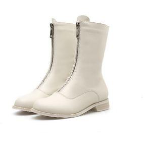 e97f843b2b0 Botas de caballero Generic Mujer-Blanco