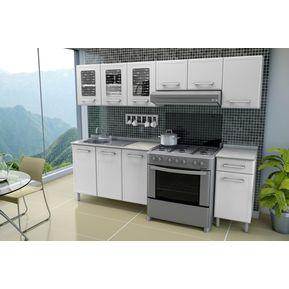 Cocina De Acero Bertolini Gourmet 2.40mt Blanca 7890a9edc7f2