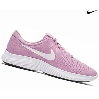 Zapatilla Nike Revolution 4 GS para Dama Rosa
