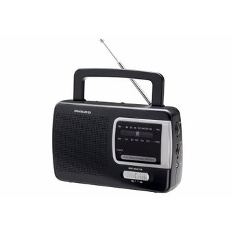Radio Portatil Philco Prm50 AM/FM-Negro