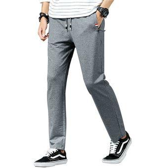 Pantalones Informales Para Hombre Pantalones De Chandal Largos De Colores Para Hombre Pantalones De Moda Elegantes Para Hombre Pantalones Para El Colegio Y Plantas Pantalones De Trabajo En El Exterior Black Linio Peru Ge582fa16kdgflpe