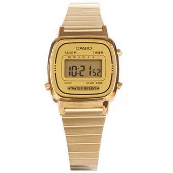 b0c407cb2895 Compra Reloj Casio LA670 LA-670WG-9D -Dorado online