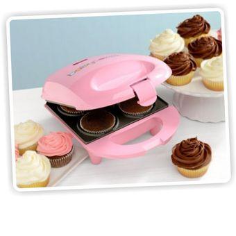Máquina Para Hacer Mini Cup Cakes Babycakes Cup Maker Ccm 50 Rosado