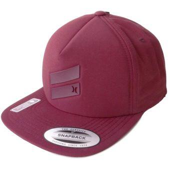 Compra Gorra Hombre Hurley Slash Back-Rojo online  6a0be544a30