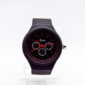 804181f4e0e5 Compra Reloj Analogico Goma Mujer Kipuy - Negro online