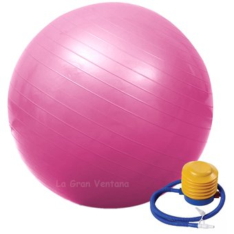 Pelota yoga y pilates Terapéutica con Inflador 0889a9c1aa07