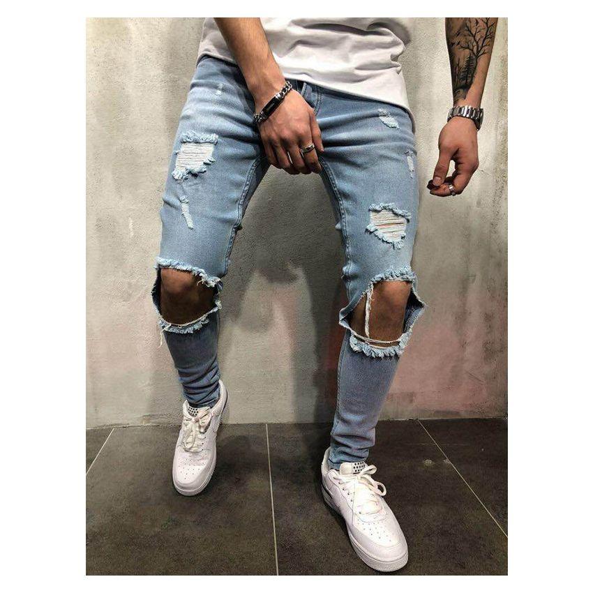 Pantalones Vaqueros Para Hombre Azul Claro Ge032fa10sn1dlmx Ofp3pe92