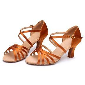 b58d8f6b Zapatos De Baile Latino / Tango Para Mujeres, Sole Suave Y 5.5cm Tacón Medio