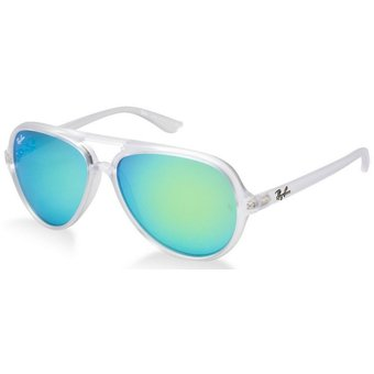 4c41244b26fc07 ... top quality lentes de sol ray ban cats 5000 flash lenses rb4125 646 19  flash verde
