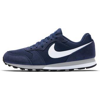 Compra Tenis Deportivos Hombre Nike MD Runner 2-Azul online  1babd2fe61f9