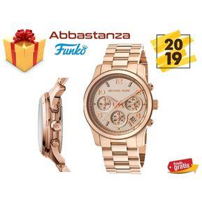 Reloj Michael Kors Runway Mk 5128 Rosa dorado Para Mujer a2f93f34e8b8