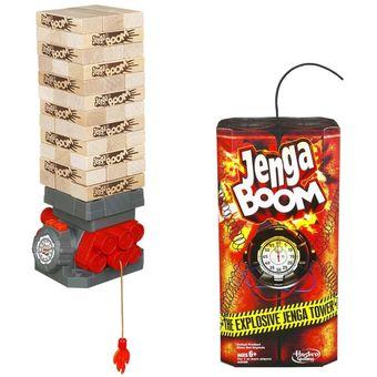 Compra Hasbro Juego De Mesa Jenga Boom Online Linio Peru