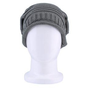 3ccfe9af7ab84 EW Unisex Mujer Hombre Invierno Cálido esquí de punto de ganchillo Baggy  Beanie Hat Cap Nuevo