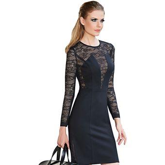 Vestido Mussi 46014 Negro