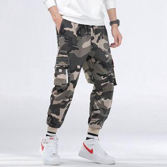 Pantalones De Correr Para Hombre Pantalones De Verano Tipo Harem Pitillo Militares De Camuflaje Para Hombre Pantalones Cargo Holgados Y Comodos Pantalones De Camuflaje Para Hombre Chun Fk169 Dark Khaki Linio Peru