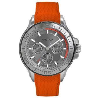696b23ba85e5 Reloj Análogo marca Nautica Modelo  NAPAUC002 color Naranja para Caballero