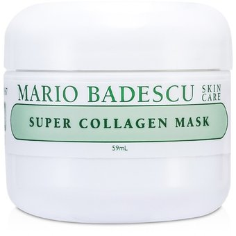 Mario Badescu - Super Collagen Mask - 59ml/2oz Derma Giovinezza- Instant Wrinkle Remover- Rapidly Repair and Restore Healthy, Youthful Skin (0.5 Ounce)