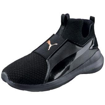 74ca90122 Compra Zapatillas Puma para Dama-Negro 365249 04 (5*-8*) REBEL MID ...