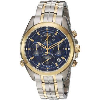 dd267a6dece2 Bulova - Reloj 98B276 Quartz Stainless Steel Casual Multi Color Para Hombre