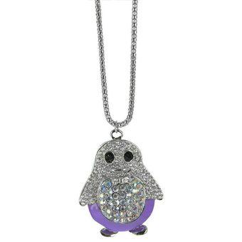 ddc0d274fc06 Twinkle Accesorio Colgantes Collar Cadena A La Moda De Mujer Pingüino Glam
