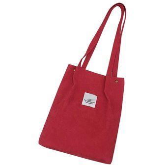 Casual De Hombro Para Y Online Compra Rojo Bolsa Lona Mujer 54wUIUXqF