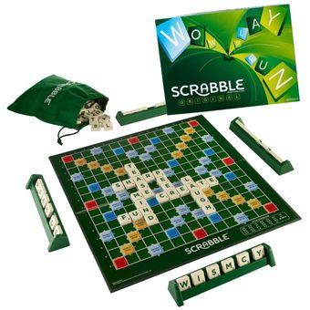 Compra Scrabble Original Mattel Juego De Mesa Y9615 Online Linio