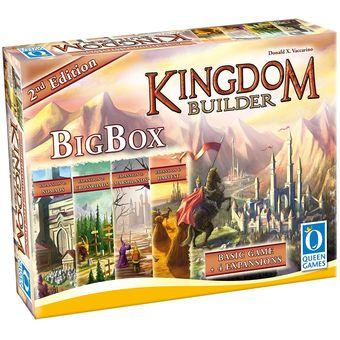 Compra Kingdom Builder Big Box 2nd Edition Juego De Mesa Ingles