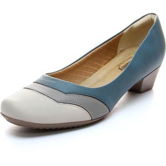 Compra Zapato de confort PICCADILLY PI141028-2-AZUL BEIGE online ... e953377c772b