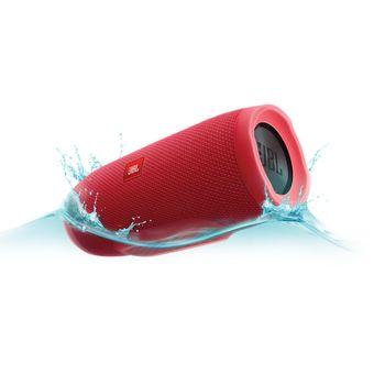 Parlante Bluetooth Portatil Sumergilbe JBL CHARGE 3 - Rojo