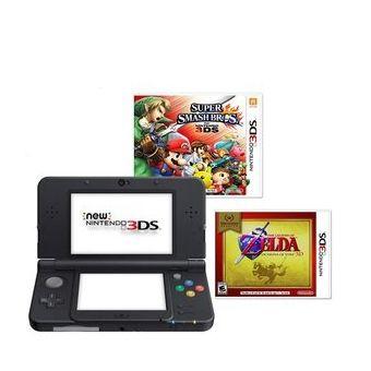Compra Combo Nintendo 3ds Xl Blackcargador 2 Juegos Fisicos Online