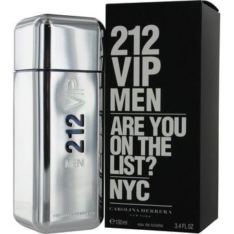 Compra Perfume Carolina Herrera 212 VIP List Hombre 100ml online ... 27b8733e08c8