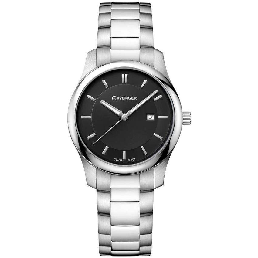 3594887df4d2 Reloj Wenger City Classic - 01.1421.104 TIME SQUARE