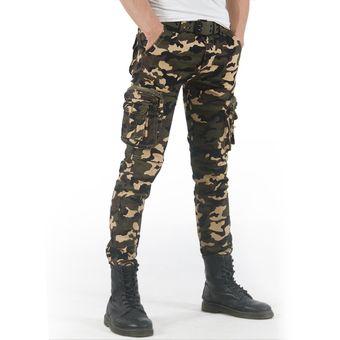 Modernos Pantalones Militares De Camuflaje Para Hombre De Estilo Informal De Delgados Para Primavera Y Verano Combate Militar Tactico Pantalon Ajustado Tipo Lapiz Xyx 108 Camo Linio Colombia Ge063fa0lsk6blco