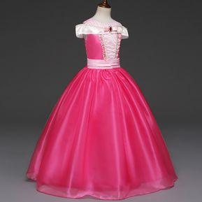 654e95492 Princesa Niños Disfraces Formal Vestido De Fiesta Niña