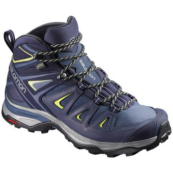 a7d097c3e3c Compra Bota Salomon Mujer Hiking Senderismo X Ultra 3 Mid Morado ...