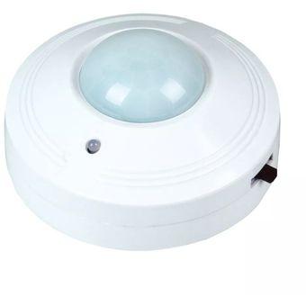 Sensor De Movimiento Para Techo Zurich 0360b Infrarrojo-Blanco