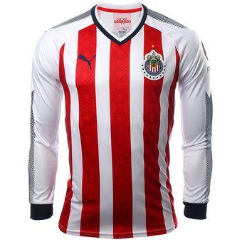 c92241139bcba Compra Jersey Puma De Chivas Del Guadalajara Manga Larga 2018 online ...