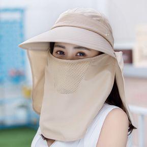 5a8a4d9d3b70a Sombrero De Protección Solar Rostro Protección Solar Sombrero De Sol