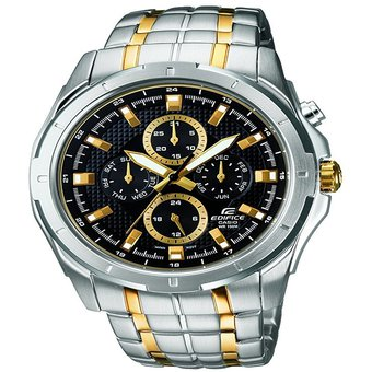 ade74c296430 Compra Reloj Casio Edifice Hombre EF-328SG-1AV Multicalendario 100 ...