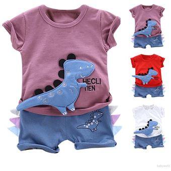 Traje Camiseta Baby Boy Imagen De Dinosaurio De Manga Corta Pantalones Para Verano Linio Mexico Ge598tb09zignlmx