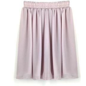 Falda De Casa Cintura Alta Para Mujer-Desnudo 2c429b11b7db