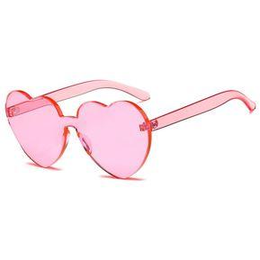 899c941764 Amor en forma de corazón la mujer gafas de sol Gafas lentes de resina del  bastidor