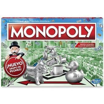 Compra Monopoly Hasbro Juego De Mesa Clasico Familiar Original