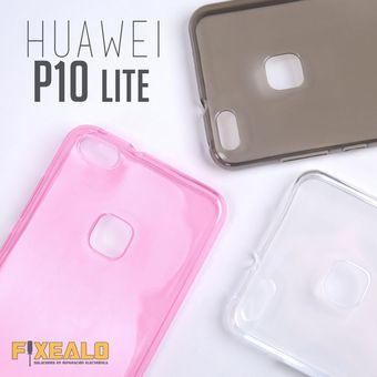 376f5aed415 Agotado Funda Protector Tpu Crystal Case Transparente Flexible Huawei P10  Lite + Cristal Templado Mica Glass
