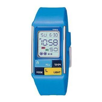 f4c045400626 Compra Reloj Casio Poptone LDF50 Azul online