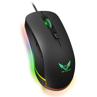4800 DPI ajustable RGB Marquee Gaming Mouse