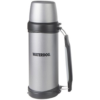 Compra Termo Waterdog Acero Inox 1 Litro Manija Cebador - Plata ... 3f32083139af