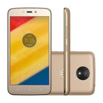 Motorola Moto C Plus Dorado teléfono smartphone linio smartphones 2019