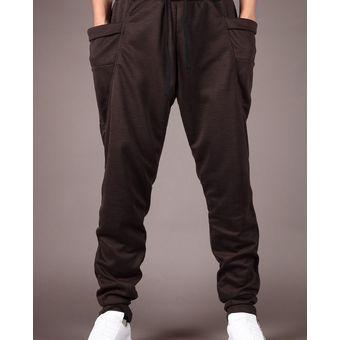 Pantalones de chándal de los hombres Pantalones de moda Pantalones de hombre -marrón f70fcc429ca